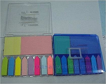 plastic notepad