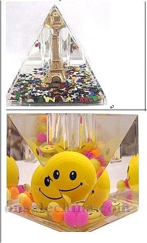 Liquid paperweight