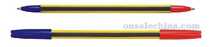 twin ballpoint pen