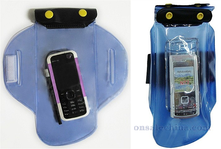 Waterproof arm pouch for phone