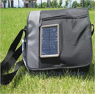 Solar school backpack