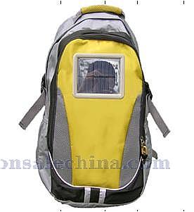 Solar hinking backpack