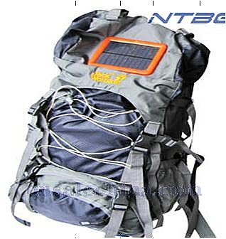 solar mountaineering bags
