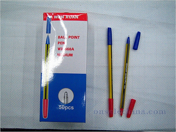 Twin writer stick pen