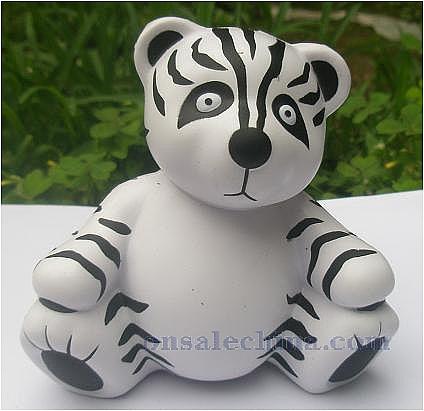 PU panda stress ball