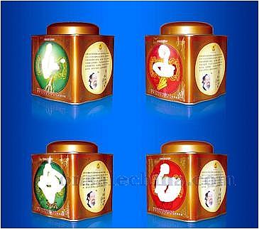 Gift Undular Tea Tin Box