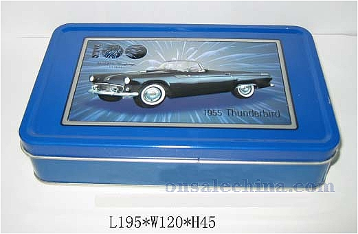 tinplate box