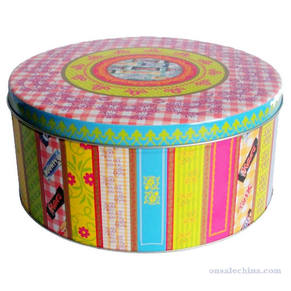 Cookies Custom Gift Tin
