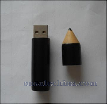 pencil style USB drive