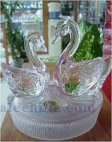 Spun Twin Swans