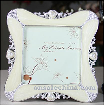 Wedding Metal Photo Frame