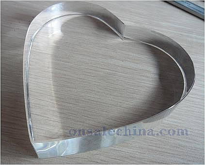 Optical Crystal Heart Model