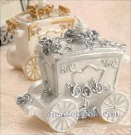 Wedding carriage Shaped Candle