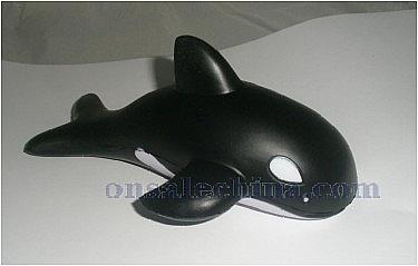 PU Whale Stress Ball
